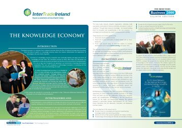 THE KNOWLEDGE ECONOMY - Business 2000