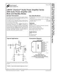 Datasheet - Electronic circuits magazine