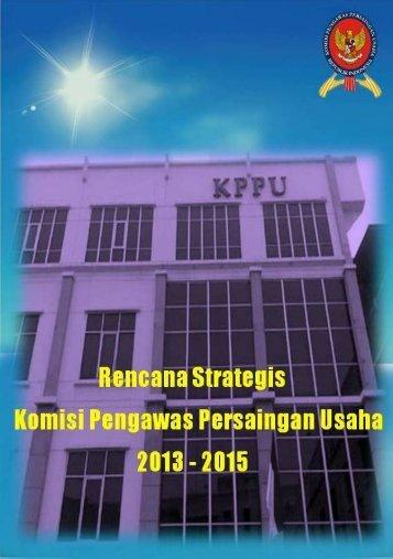 RENSTRA PENYESUAIAN KPPU 2013-2015