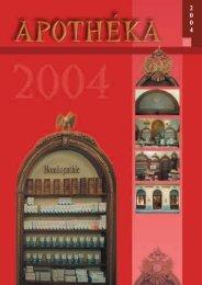 Apothéka 2004 - Apothéka.sk