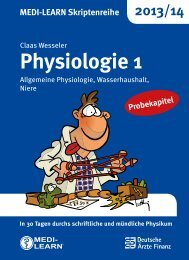 Physiologie 1