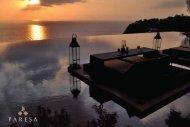 paresa fact sheet - Paresa Resort Phuket