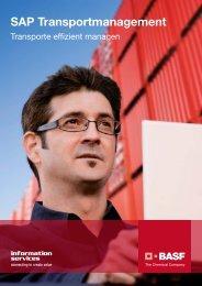 SAP Transportmanagement - BASF IT Services