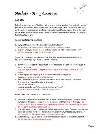 macbeth study guide answers act 1 rh signaturepedagogies org uk macbeth study guide answers act 1 scene 2 macbeth study guide answers act 1 scene 4