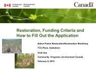 Workshop Lead: Vicki Asu - Prairie Conservation Action Plan