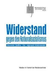 Widerstand gegen den Nationalsozialismus ... - Erzbistum Köln