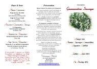 Rencontrer Gourmandises Sauvages - Loire Solidaires