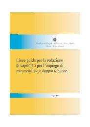 Linee guida per la redazione di capitolati per l'impiego di rete ...