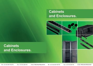 Cabinets and Enclosures. Cabinets and Enclosures.