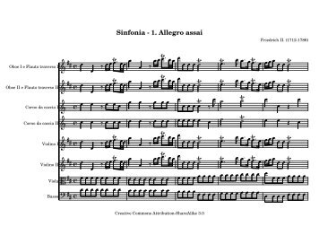 Sinfonia - 1. Allegro assai - The Mutopia Project
