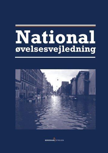 National øvelsesvejledning - Beredskabsstyrelsen