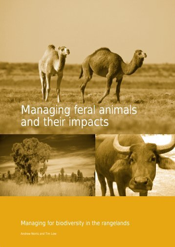 Managing feral animals and their impacts - Department of ...
