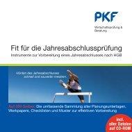 Fit für die Jahresabschlussprüfung - PKF Fasselt Schlage