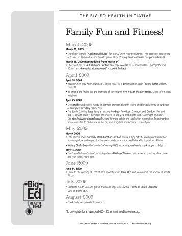 Family Fun and Fitness! - EdVenture Children's Museum