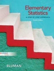 Bluman A.G. Elementary Statistics- A Step By Step Approach