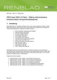 REN blad 4000 LS Nett – Måling Administrative ... - Helgelandskraft