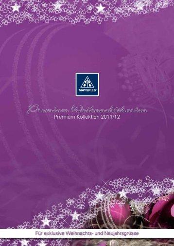 Premium-Kollektion 2011/12 - Druckerei BENNER
