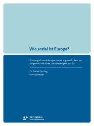 [PDF] Wie sozial ist Europa? - EUFIS: Das EU-Fachinformationssystem
