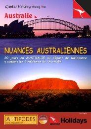 NUANCES AUSTRALIENNES NUANCES ... - Antipodes
