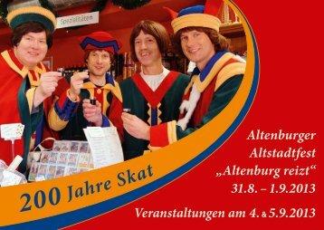 Programm Altstadtfest - Altenburg Tourismus