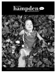 November 2012 (pdf) - Hampden Community Council