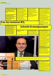 Schmitt Kreiselpumpen setzt mit IE3 Motoren Schmitt Kreiselpumpen ...