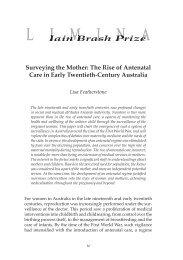 The Rise of Antenatal Care in Early Twentieth-Century Australia