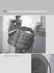 Waschmaschine Bedienungsanleitung