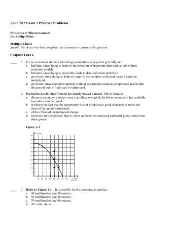 econ 207 exam 1 notes Econ 1010 principles of macroeconomics powerpoint lecture notes practice exam #1a – solutions exam #1 – solutions section #3.