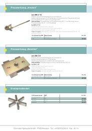 """Presswerkzeug """"Arnstein"""" - Schmitter Hydraulik GmbH"""