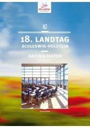 18. landtag - Landeszentrale für politische Bildung Schleswig-Holstein