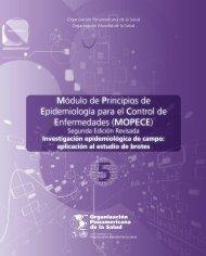 MOPECE - Aula Virtual Regional. Campus Virtual de Salud Pública