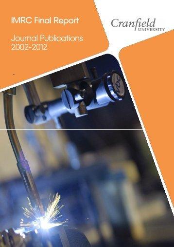 Publications - Cranfield University