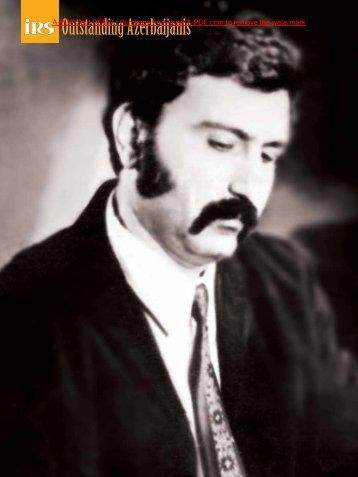 Outstanding Azerbaijanis - Irs