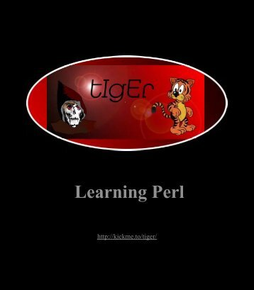 O'Reilly - Learning Perl
