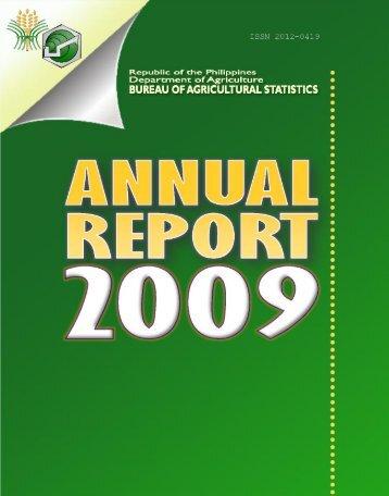 Annual Report - Philippines Bureau of Agricultural Statistics