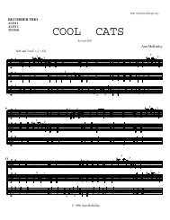 Cool Cats - Early MusiChicago
