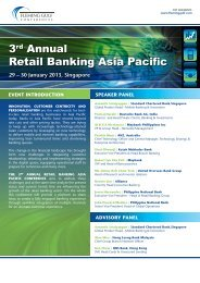 3rd Annual Retail Banking Asia Pacific