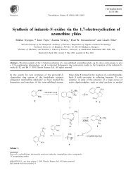Synthesis of indazole-N-oxides via the 1,7-electrocyclisation of ...