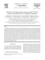 Geochimica et Cosmochimica Acta 71 (2007)