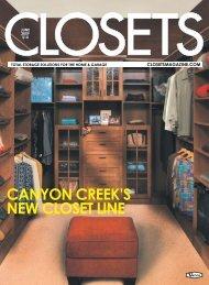cANYON cREEK'S NEW cLOSET LINE - Canyon Creek Cabinet ...