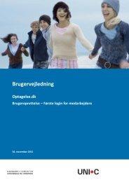 Brugeroprettelse - Optagelse.dk