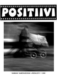 Positiivi 1 / 2008 - Suomen Kameraseurojen Liitto ry