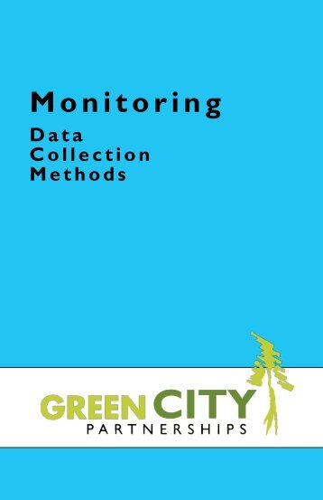 Download the 2013 Monitoring Field Guide {PDF} here. - Forterra