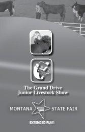 The Grand Drive Junior Livestock Show - Montana State Fair