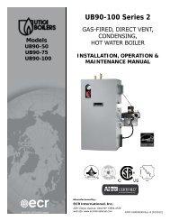 UB90-100 Series 2 - Columbia Heating