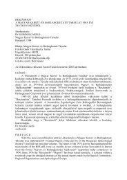 MKBT beszámoló - 1983 (pdf) - Magyar Karszt- és Barlangkutató ...