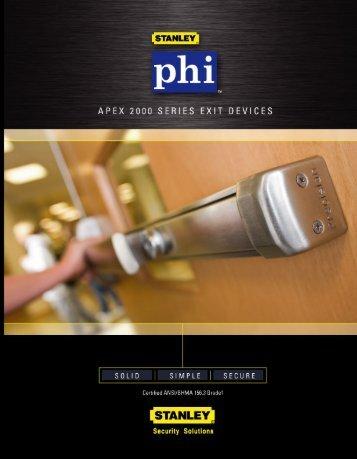 phlii. - Precision Hardware