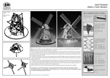 Dutch Windmill Mulino a Vento Olandese