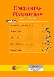 Encuestas Ganaderas. Resultados 2006 - Eurocarne